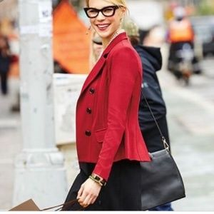 CABI Outing Blazer Red Size 6